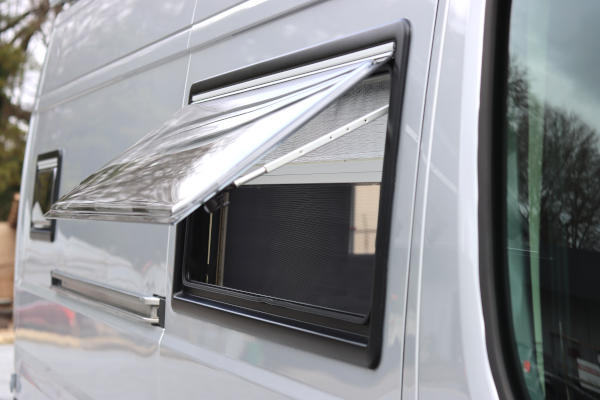 maxvan version two awning window partially open